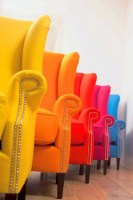 Rainbow-of-Wingback-chairs