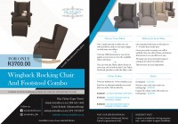 Rocking Chair Special Flyer 2020